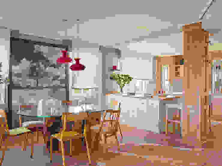 Столовая комната в эклектичном стиле от BELEN FERRANDIZ INTERIOR DESIGN Эклектичный