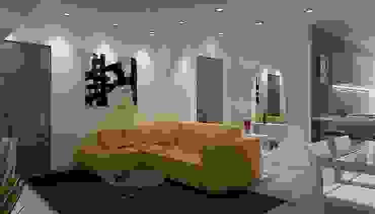Salones modernos de Paolo Foglini Design Moderno
