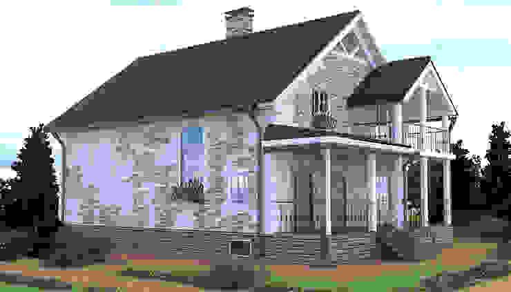 Общий вид Дома в классическом стиле от Садовникова Наталья Евгеньевна Классический