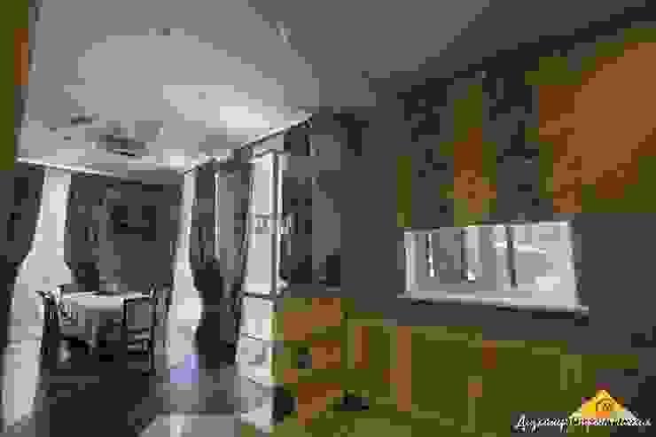 Кухня , столовая Столовая комната в эклектичном стиле от Строев Михаил Эклектичный