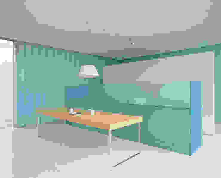 CASA EXPONOR – PROTÓTIPO DE CASA CONTEMPORÂNEA por Cannatà & Fernandes arquitectos Moderno