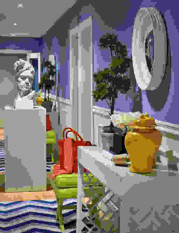 Pasillos, vestíbulos y escaleras modernos de Prego Sem Estopa by Ana Cordeiro Moderno