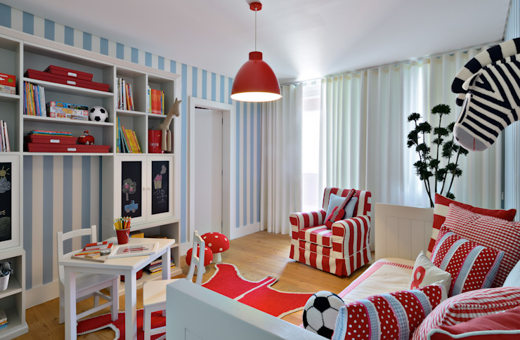 Modern nursery/kids room by Prego Sem Estopa by Ana Cordeiro Modern
