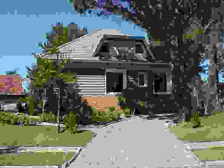 Casa Laje de Pedra Casas ecléticas por Finkelstein Arquitetos Eclético