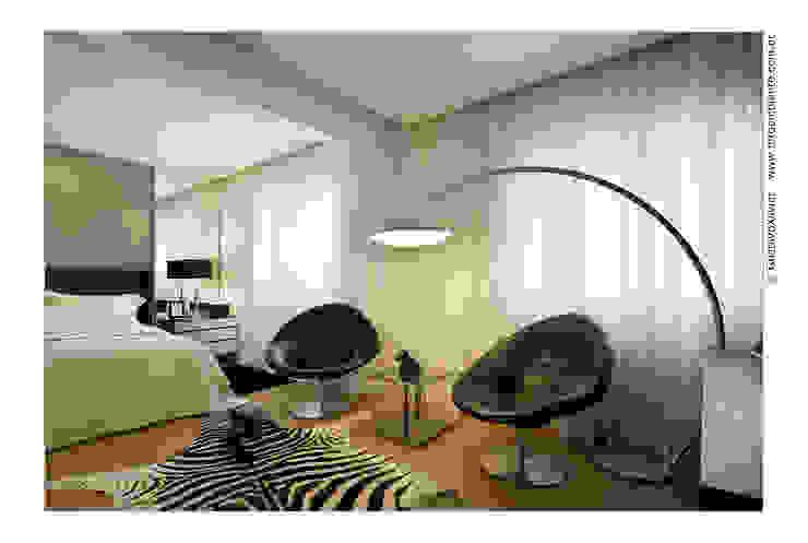 APTO BELVEDERE por Cassio Gontijo Arquitetura e Decoração Moderno Ferro/Aço