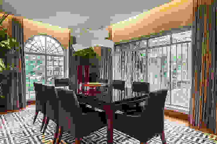 Sala de Jantar Salas de jantar minimalistas por Deborah Basso Arquitetura&Interiores Minimalista