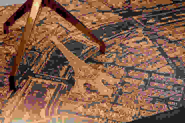 根據 Deborah Basso Arquitetura&Interiores 簡約風 銅/青銅/黃銅