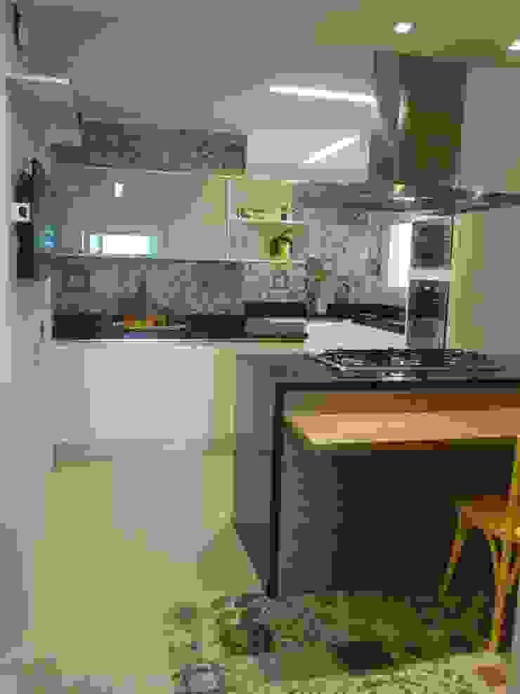 Klasik Mutfak Flávia Brandão - arquitetura, interiores e obras Klasik Granit