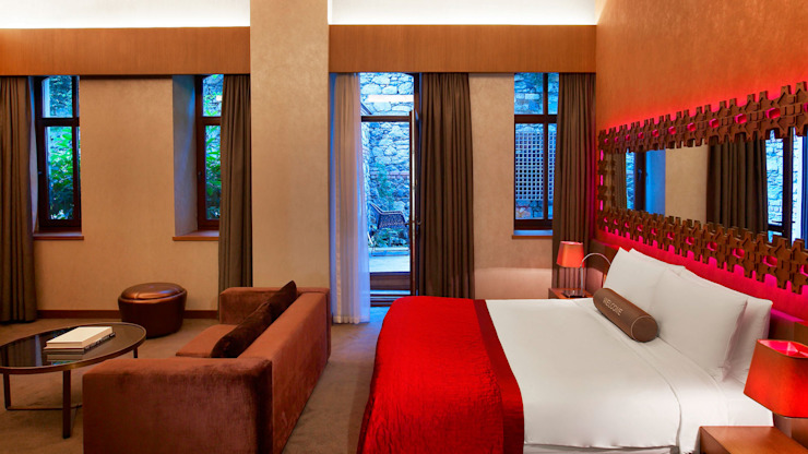 ROMANO DİZAYN – W HOTEL AKARETLER: modern tarz , Modern Ahşap Ahşap rengi