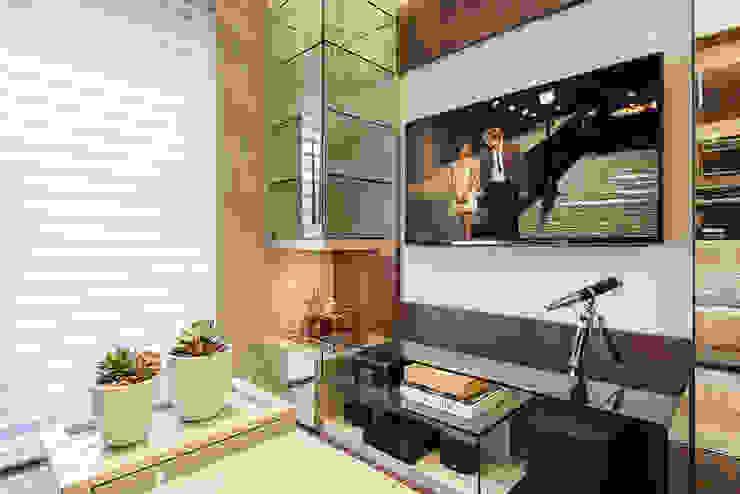 Arquitetura de Interiores Residencial Salas de estar modernas por Ana Cristina Avila Arquitetura e Interiores Moderno