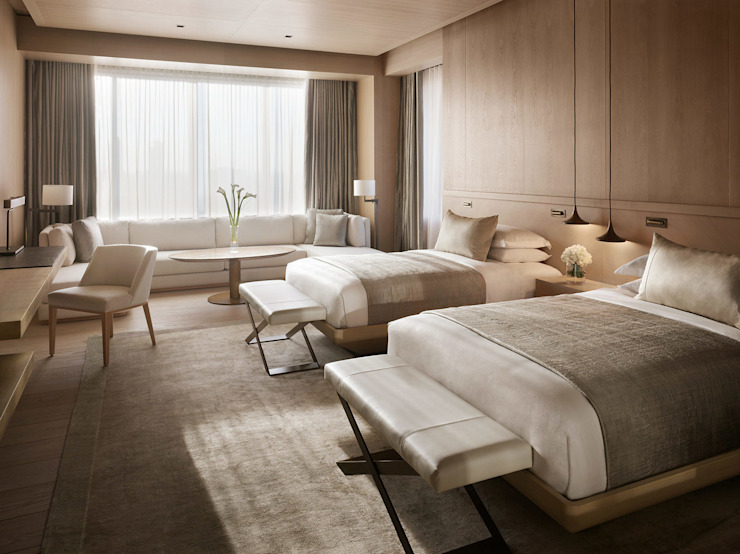 ROMANO DİZAYN – EDITION HOTEL LEVENT  : modern tarz , Modern