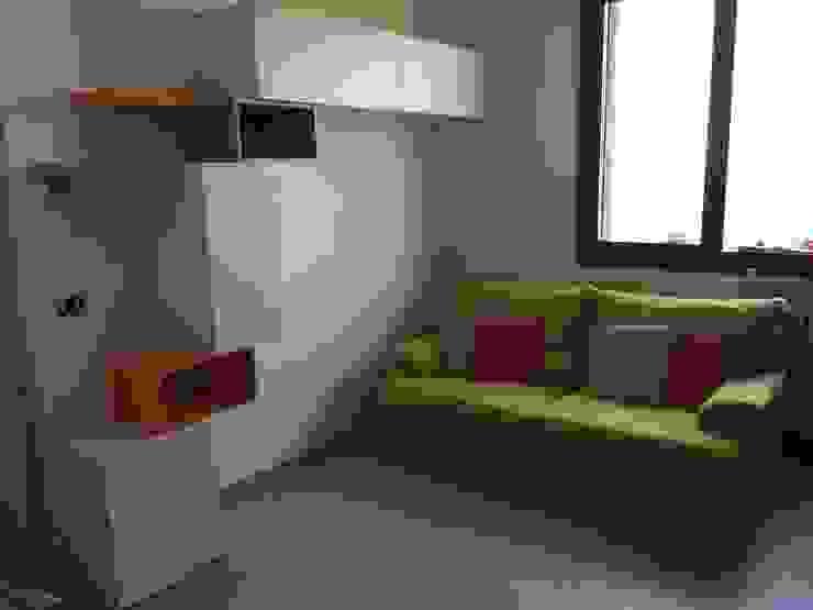 soggiorno in openspace Soggiorno moderno di Arreda Progetta di Alice Bambini Moderno