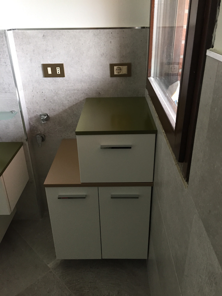 Arreda Progetta di Alice Bambini 現代浴室設計點子、靈感&圖片