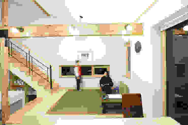 좌식응접실 모던스타일 다이닝 룸 by 주택설계전문 디자인그룹 홈스타일토토 모던