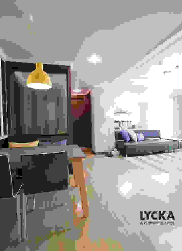 판교 아파트 홈드레싱 스칸디나비아 다이닝 룸 by LYCKA interior & styling 북유럽