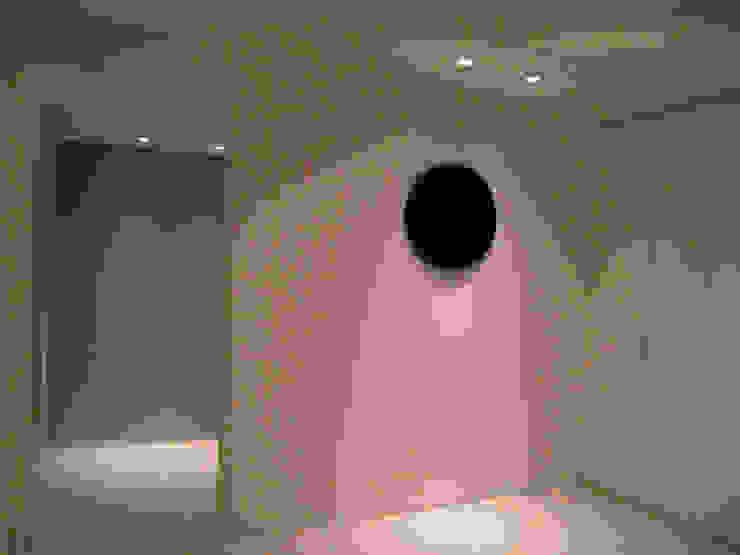 R project モダンスタイルの 玄関&廊下&階段 の G*FRAME design co.,ltd. モダン タイル