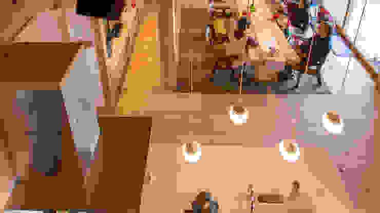 H26日本漆喰協会作品賞:受賞した家 オリジナルデザインの キッチン の 株式会社粋の家 オリジナル