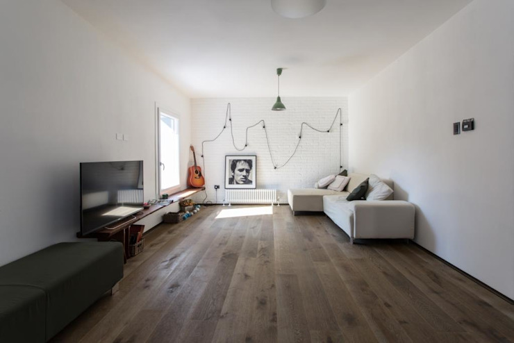 Phòng khách theo km 429 architettura, Hiện đại