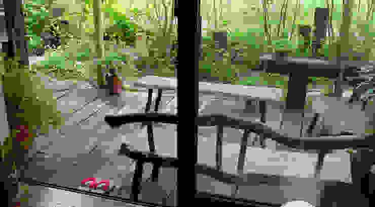 日向石を使った庭を使った庭 オリジナルな 庭 の 株式会社粋の家 オリジナル
