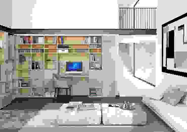 Muebles para televisión de Interioriza Clásico