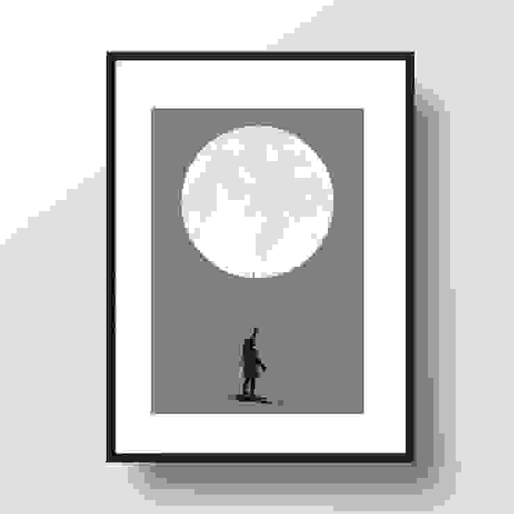 """A4 Artprint """"Moonballoon"""" homify Kunst Bilder & Gemälde"""