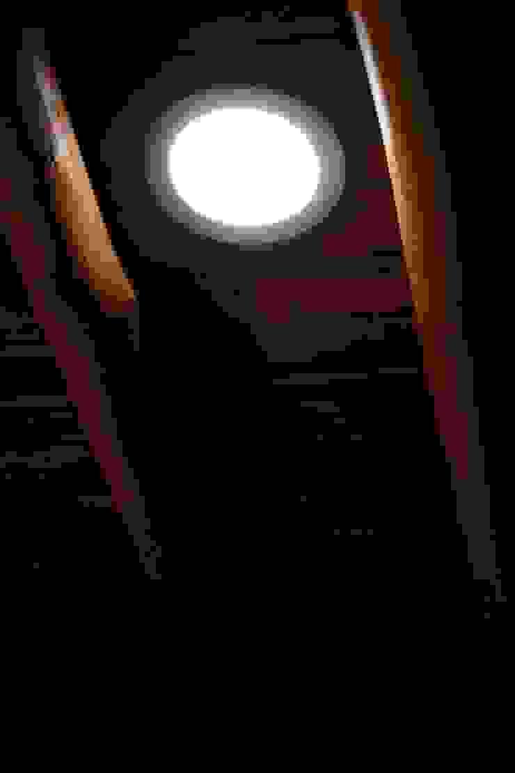 Vivienda CD Paredes y pisos rurales de Ecohacer Bioarquitectura y Bioconstrucción Rural Madera Acabado en madera