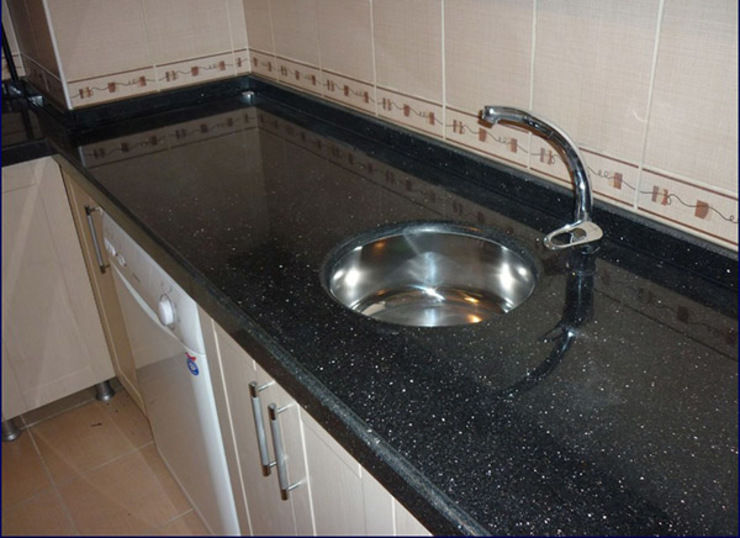 Mutfak Tezgahı Modern Mutfak Star Mermer Granit Modern