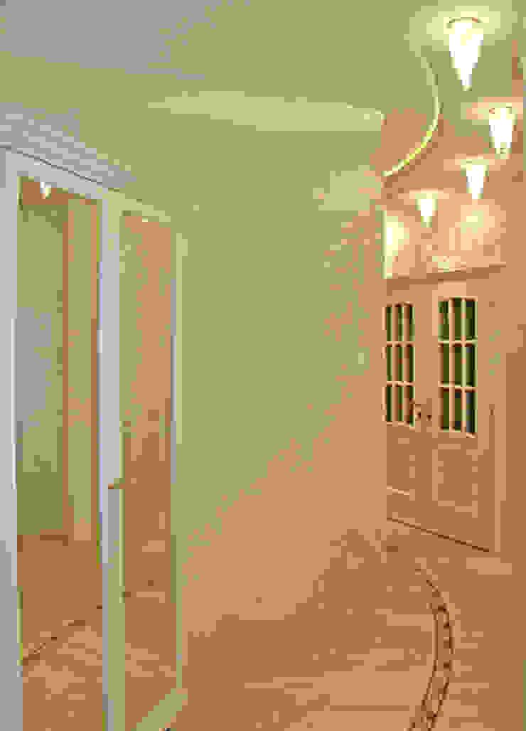 коридор Коридор, прихожая и лестница в классическом стиле от Золотой Век Классический