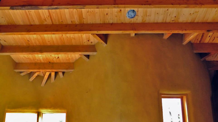 Country style walls & floors by Ecohacer Bioarquitectura y Bioconstrucción Country