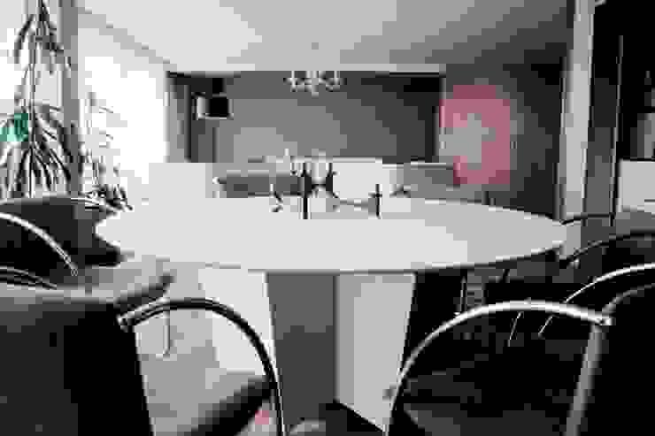 Av. México-Condesa Comedores modernos de Elías Arquitectura Moderno