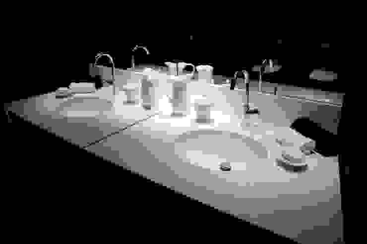 Av. México-Condesa Elías Arquitectura Baños modernos