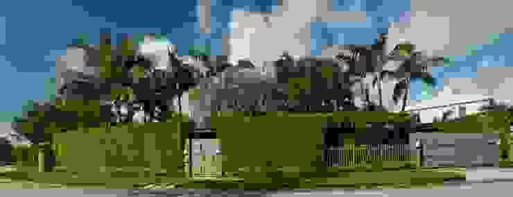 Dilido Island House-Miami Jardines modernos de Elías Arquitectura Moderno
