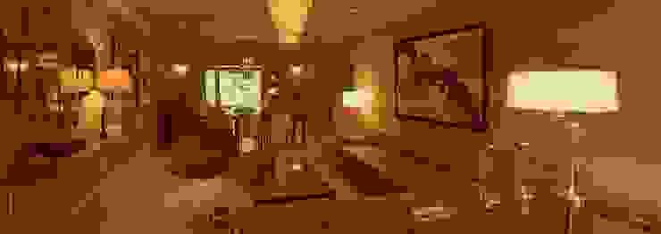 Dilido Island House-Miami Salones modernos de Elías Arquitectura Moderno