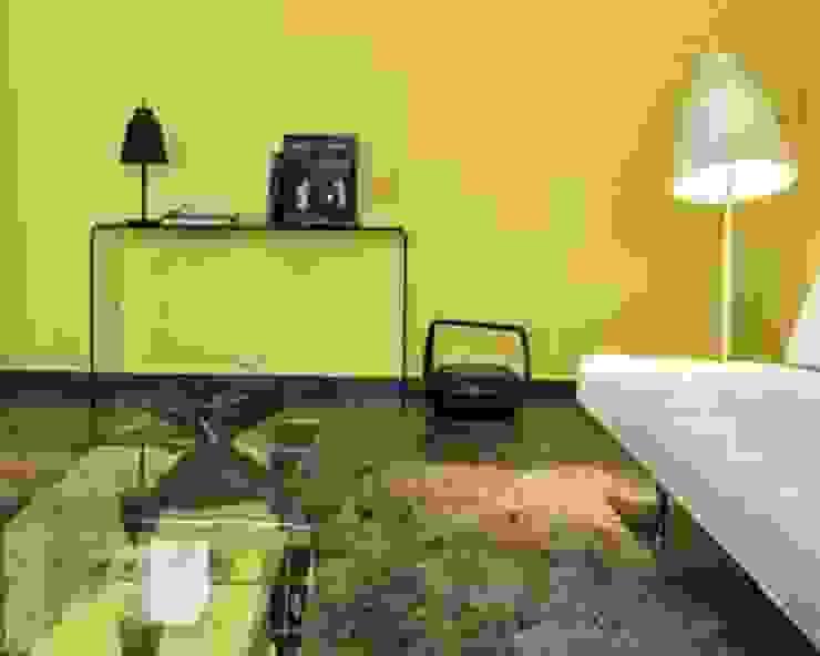 Primary Colours Salones modernos de Elías Arquitectura Moderno