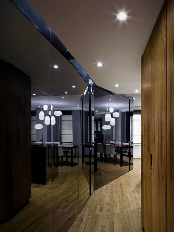 Uppern West Side Apartment-Manhatthan NYC Dormitorios modernos de Elías Arquitectura Moderno