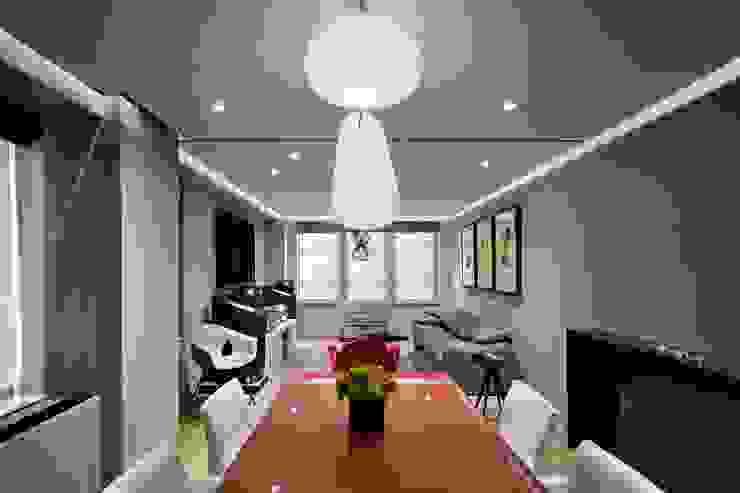 Uppern West Side Apartment-Manhatthan NYC Salones modernos de Elías Arquitectura Moderno