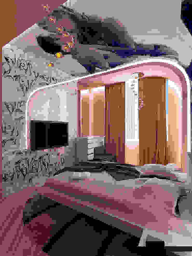 Dormitorios de estilo clásico de ИП Поварова Татьяна Владимировна Clásico