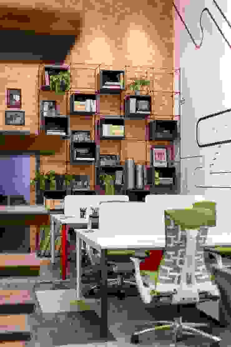 Office 16 Espaços comerciais ecléticos por ArchDesign STUDIO Eclético