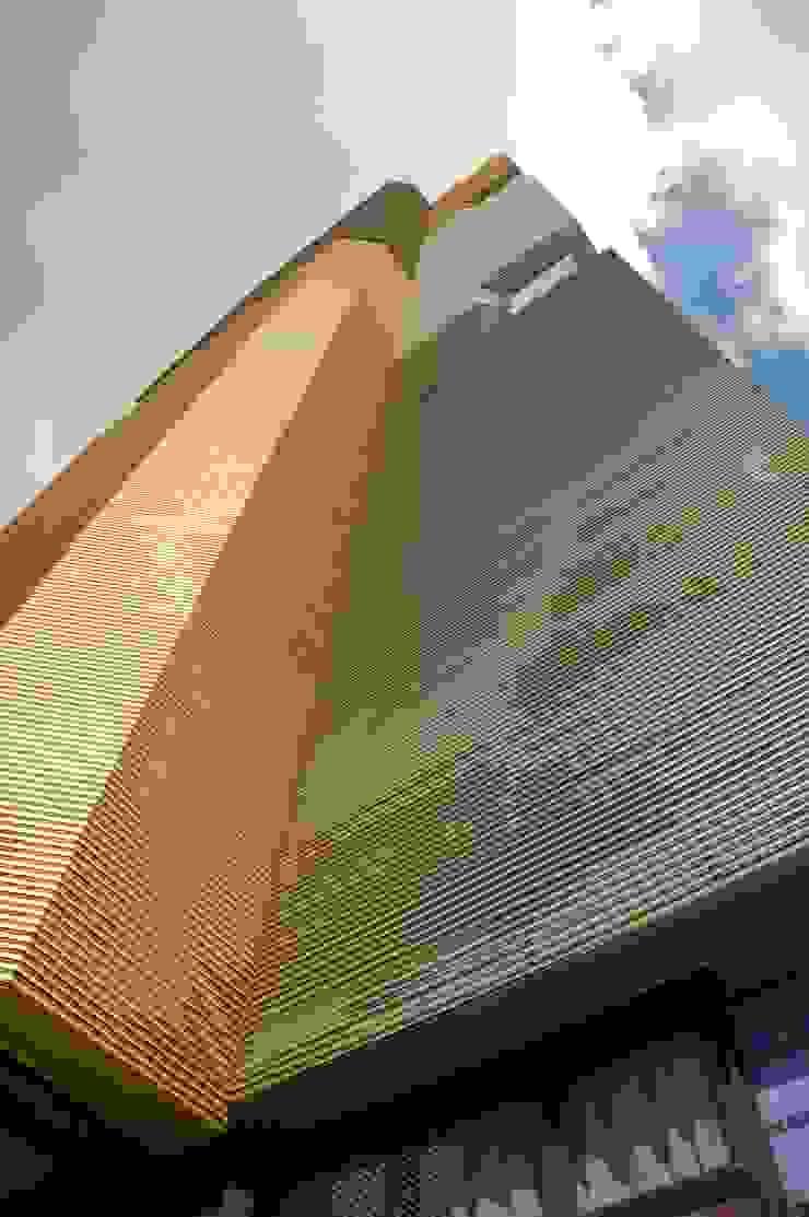 Fachada Escritórios modernos por Peixoto Arquitetos Associados Moderno