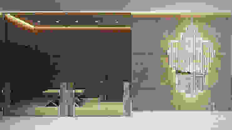 Квартира-студия в стиле Хай-тек Коридор, прихожая и лестница в стиле минимализм от студия визуализации и дизайна интерьера '3dm2' Минимализм