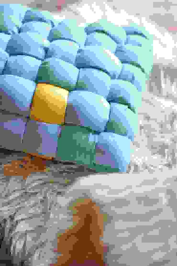 FRESHKA pillow od AFABLA Nowoczesny