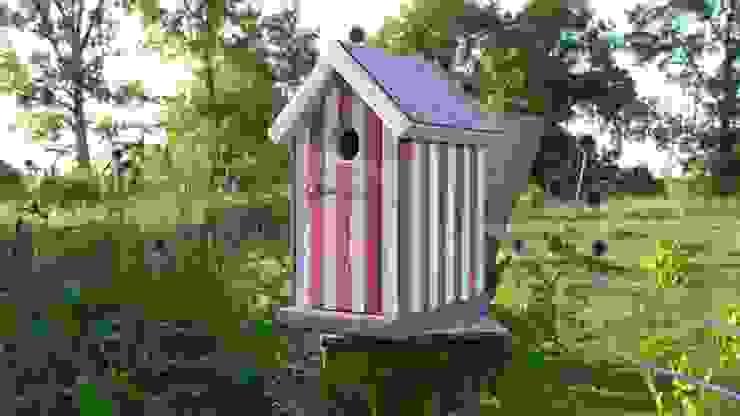 vogelhausmodelle:  Garten von holzwerkstatt-manfred berger,