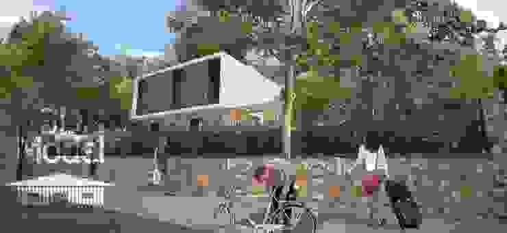 Casa Pré-Fabricada Massy – Paris Casas modernas por Nogueira Fernandes, LDA Moderno