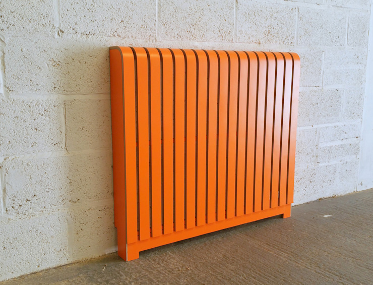 Orange Laminate Radiator Cover: modern  by Cool Radiators? It's Covered!, Modern