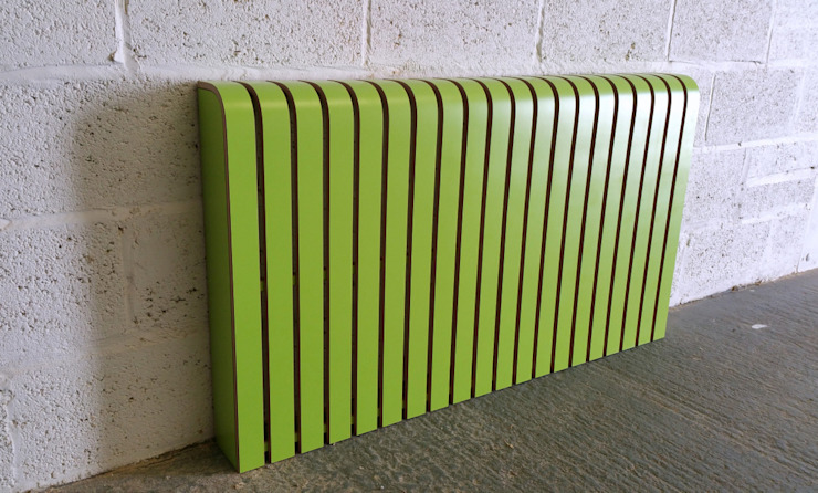 Lime Green Laminate Radiator Cover: minimalist  by Cool Radiators? It's Covered!, Minimalist