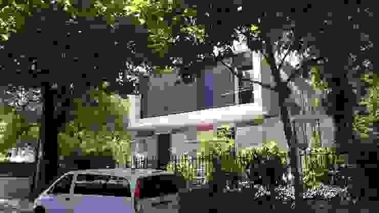 Casa Pré-Fabricada Massy - Paris Casas modernas por Nogueira Fernandes, LDA Moderno