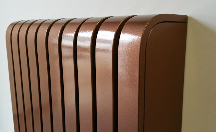 Copper Coated Radiator Cover: industrial  by Cool Radiators? It's Covered!, Industrial Copper/Bronze/Brass