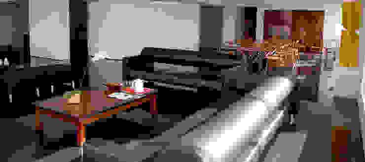 Sala de Estar e Jantar Salas de estar modernas por Peixoto Arquitetos Associados Moderno