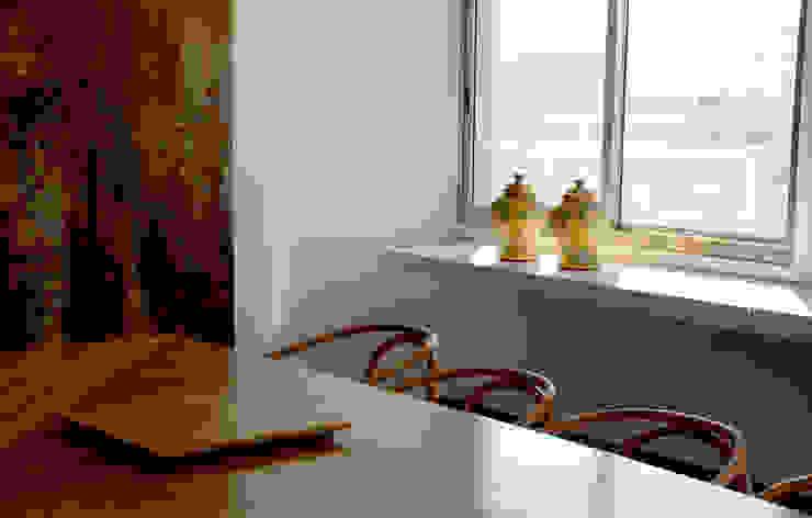 Detalhe Sala de Jantar Salas de jantar modernas por Peixoto Arquitetos Associados Moderno