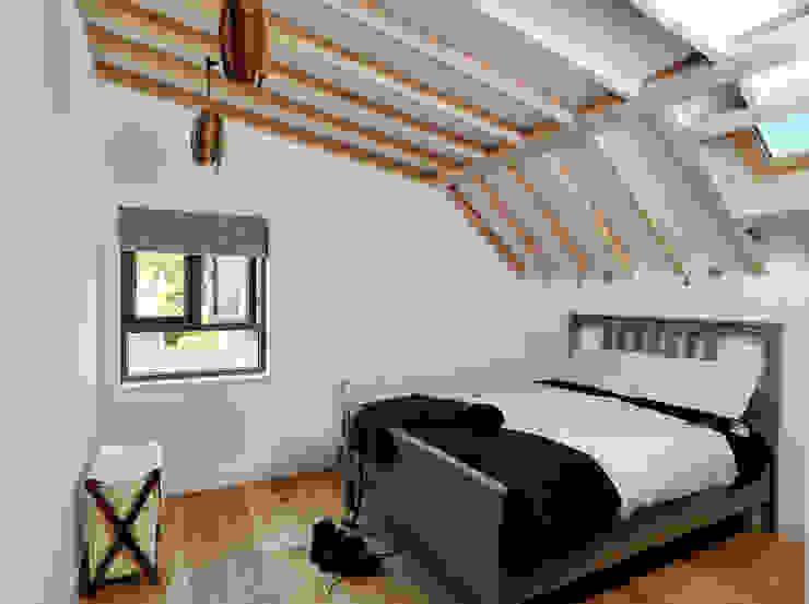 Wistanton Cottage 클래식스타일 침실 by Simon Gill Architects 클래식